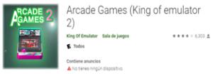 Descargar Emulador Arcade Games (King of emulator 2) android