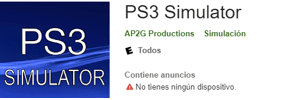 Emulador PS3 Simulator para android