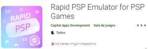 Emulador Rapid PSP para android