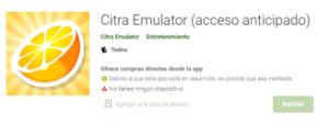 Descargar Emulador Citra para Android