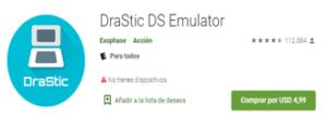 Descargar Emulador DraStic DS para Android