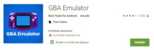 Descargar Emulador GBA Emulator para android