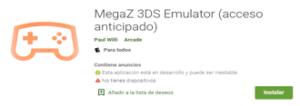 Descargar Emulador MegaZ 3DS para Android