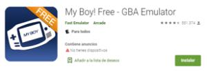 Descargar Emulador My Boy! Free para android
