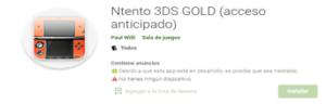 Descargar Emulador Ntento 3DS Gold para Android
