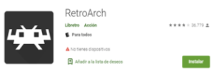Descargar Emulador RetroArch para android