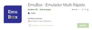 Descargar Emulador emubox para android